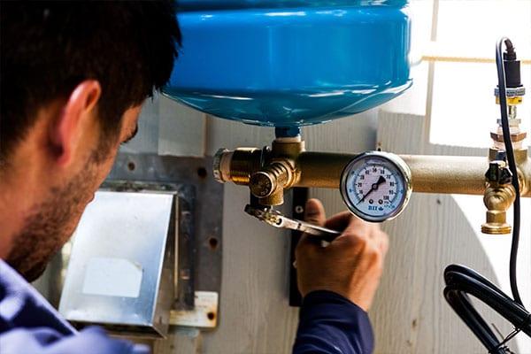 Pump-Installation