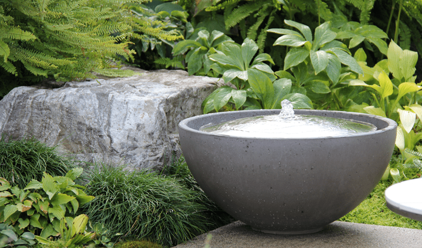 inspiring garden fountain ideas
