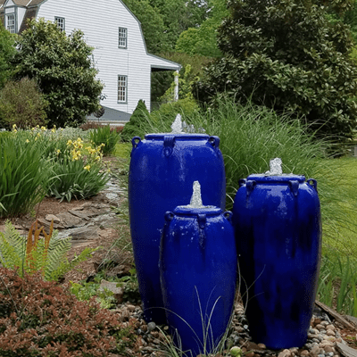 pottery urn fountains