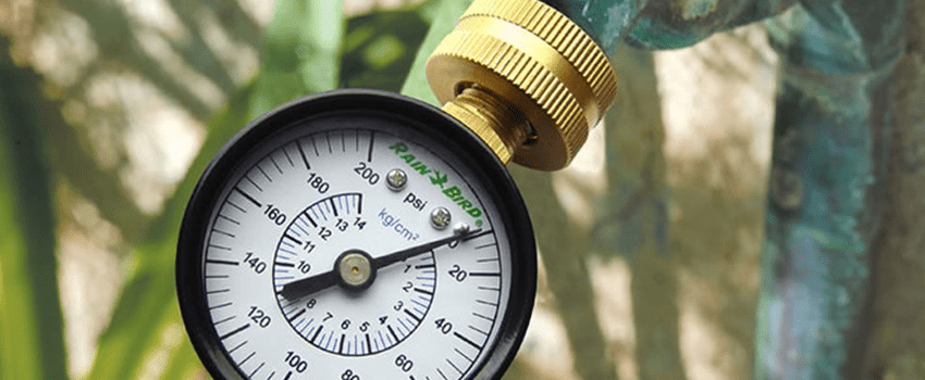 water pressure cost of an irrigation system